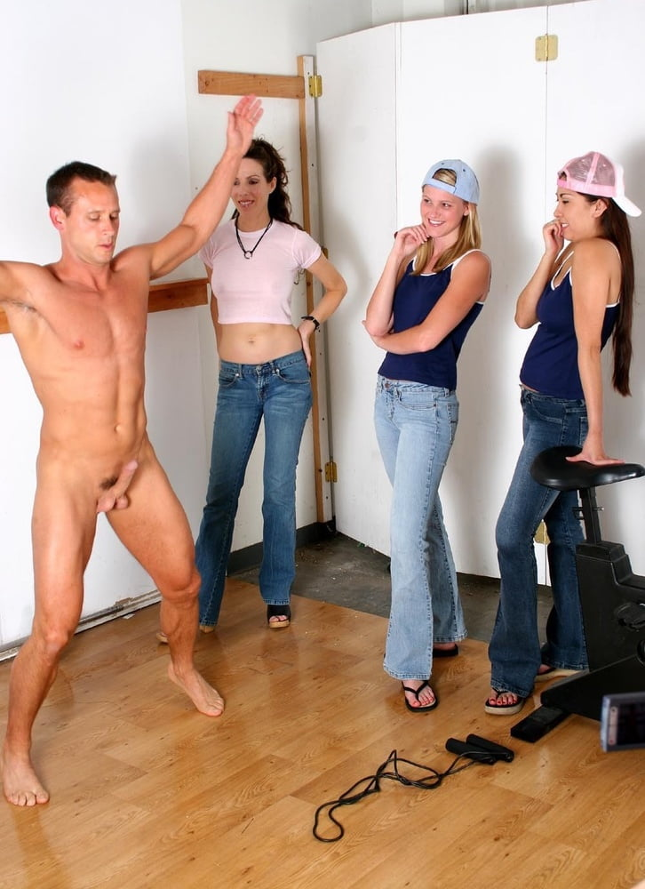 cherry jul gets a double cocking #cfnm #femdom #focedtocum #humiliated #humiliating #humiliation