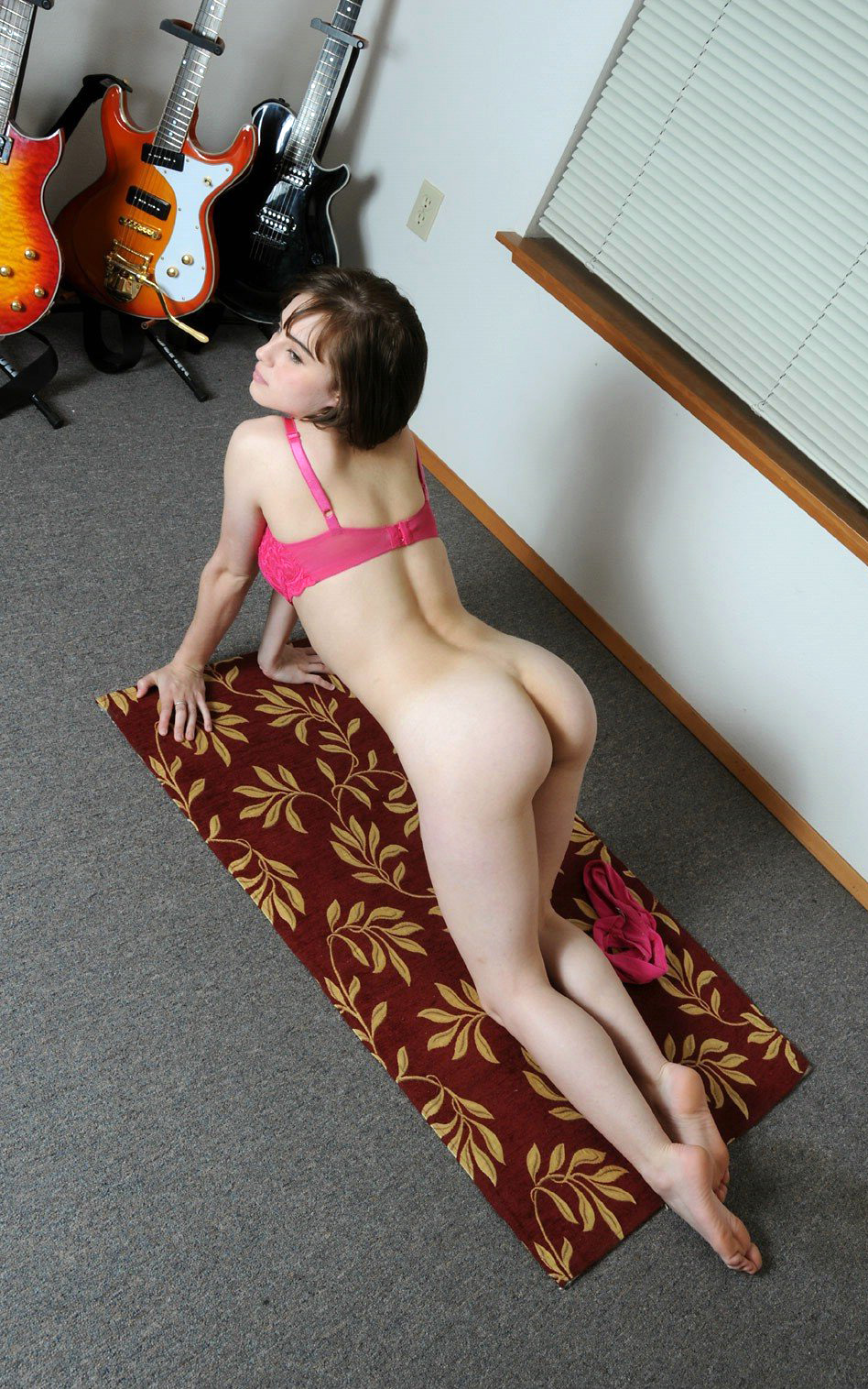 mom nude in front of son